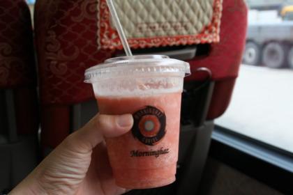 韓国のフルーツジュース