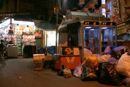 夜の南大門市場