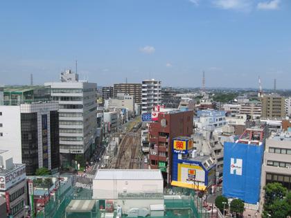東京公演の朝