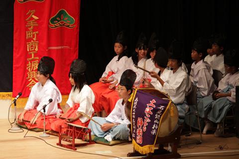 土江子ども神楽団