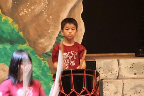 石見神楽と和太鼓の調べ ・リハーサル