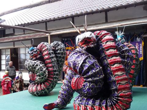 井戸神社奉納神楽