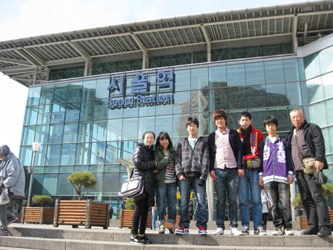 韓国卒業旅行