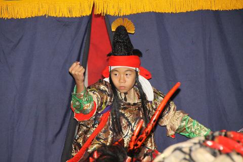 宇留布神社祭り