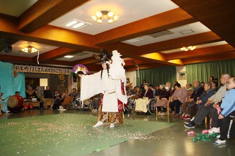 ゆうイングさわらび新春慰問公演