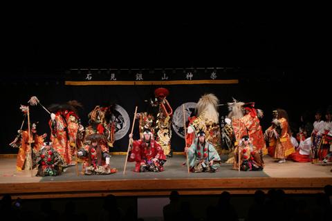 第14回「白銀の舞」神楽大会