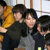 韓国留学中の香緒里さんも駆け付ける
