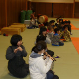 神楽笛練習
